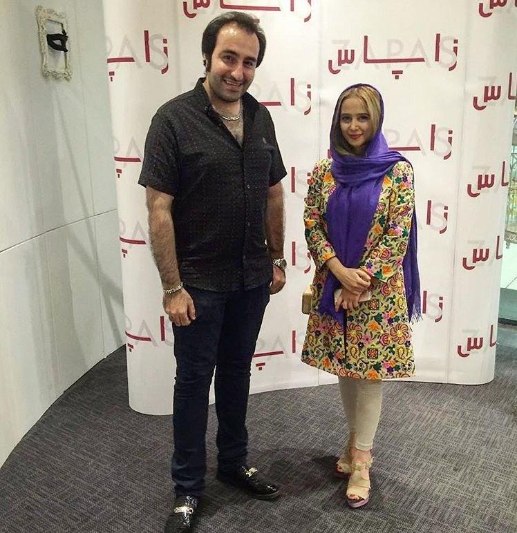 عکسهای الناز حبیبی در تیر 95