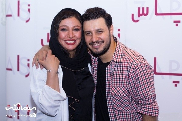 جواد عزتی و همسرش مه لقا باقری دراکران خصوصی فیلم زاپاس:10 عکس