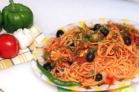 اسپاگتی با سس مارنیارا