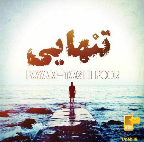 آهنگ جدید پیام تقی پور به نام تنهایی