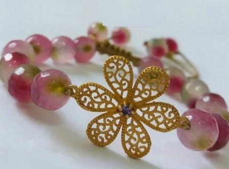 مدل دستبند ایرانی گل ترنچ 1395