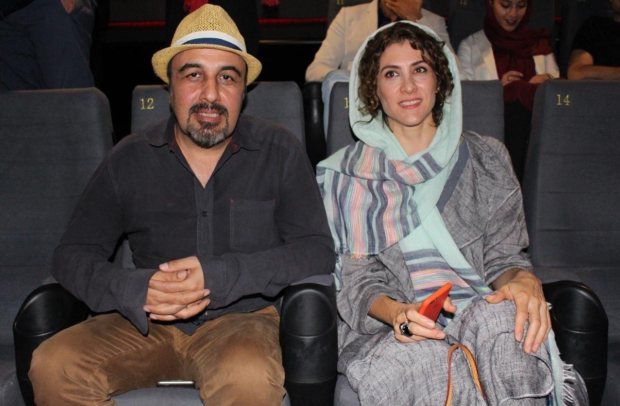 ویشکا آسایش و رضا عطاران در اکران فیلم چهارشنبه