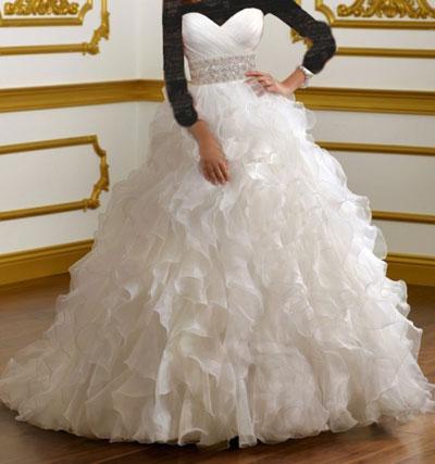 مدل های جدید لباس عروس 2016