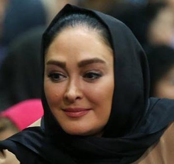 عکسهای الهام حمیدی در ضیافت افطار رییس جمهور