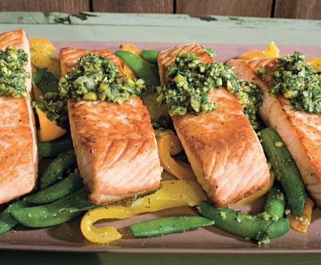 روش تهیه خوراک ماهی و سبزیجات