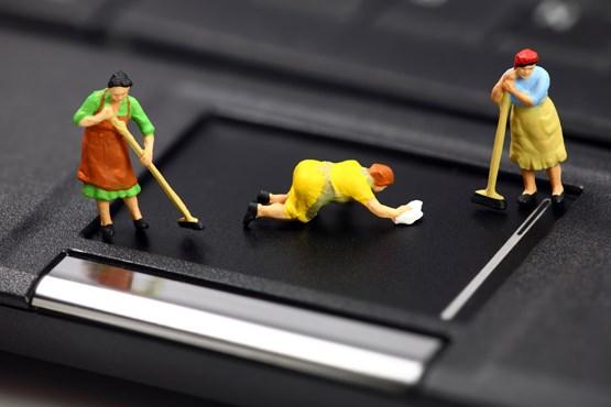 چگونه لپ تاپ خود را تمیز کنیم؟