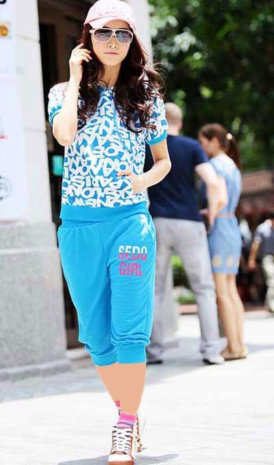 مدل لباس اسپرت دخترانه جدید