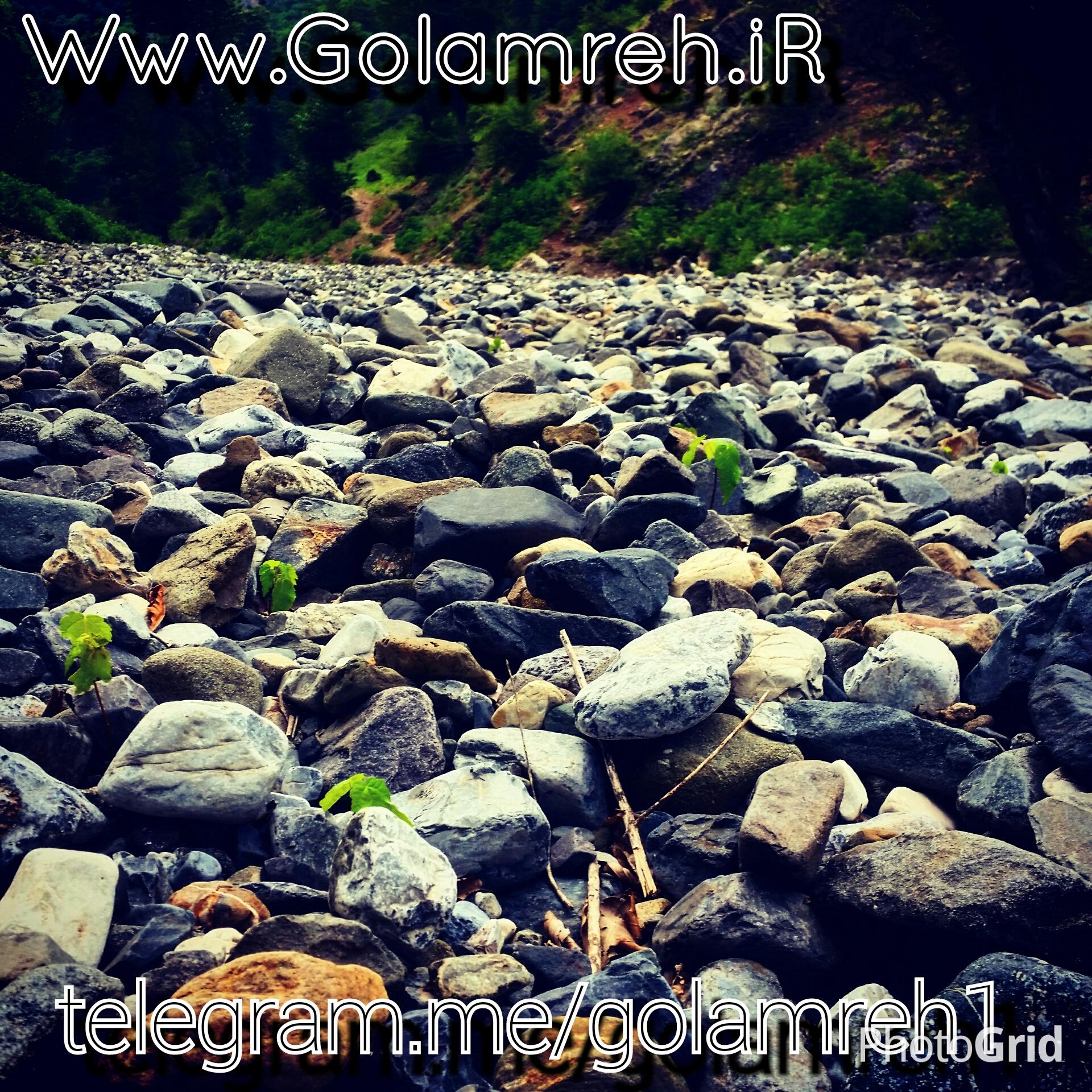 رودخانه ی گلامره در خطر نابودی است.