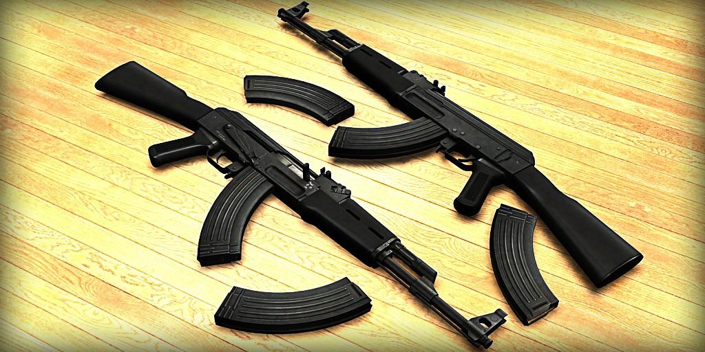 دانلود اسکین Ak47 | Iraqi Style برای کانتر سورس