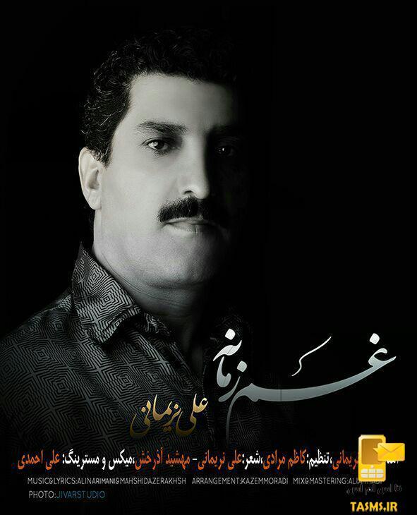 آهنگ جدید علی نریمانی به نام غم زمانه