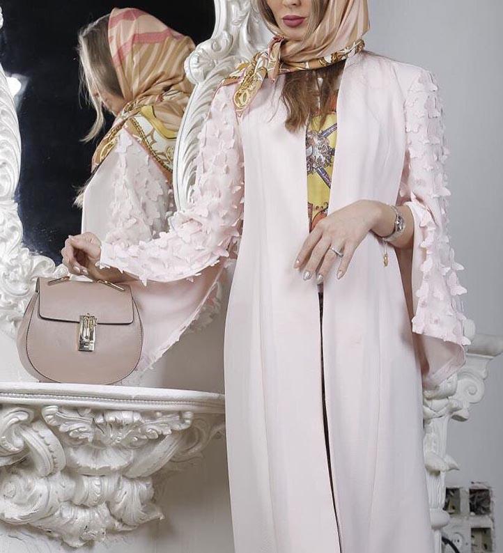 مدل مانتو مجلسی جدید دخترانه