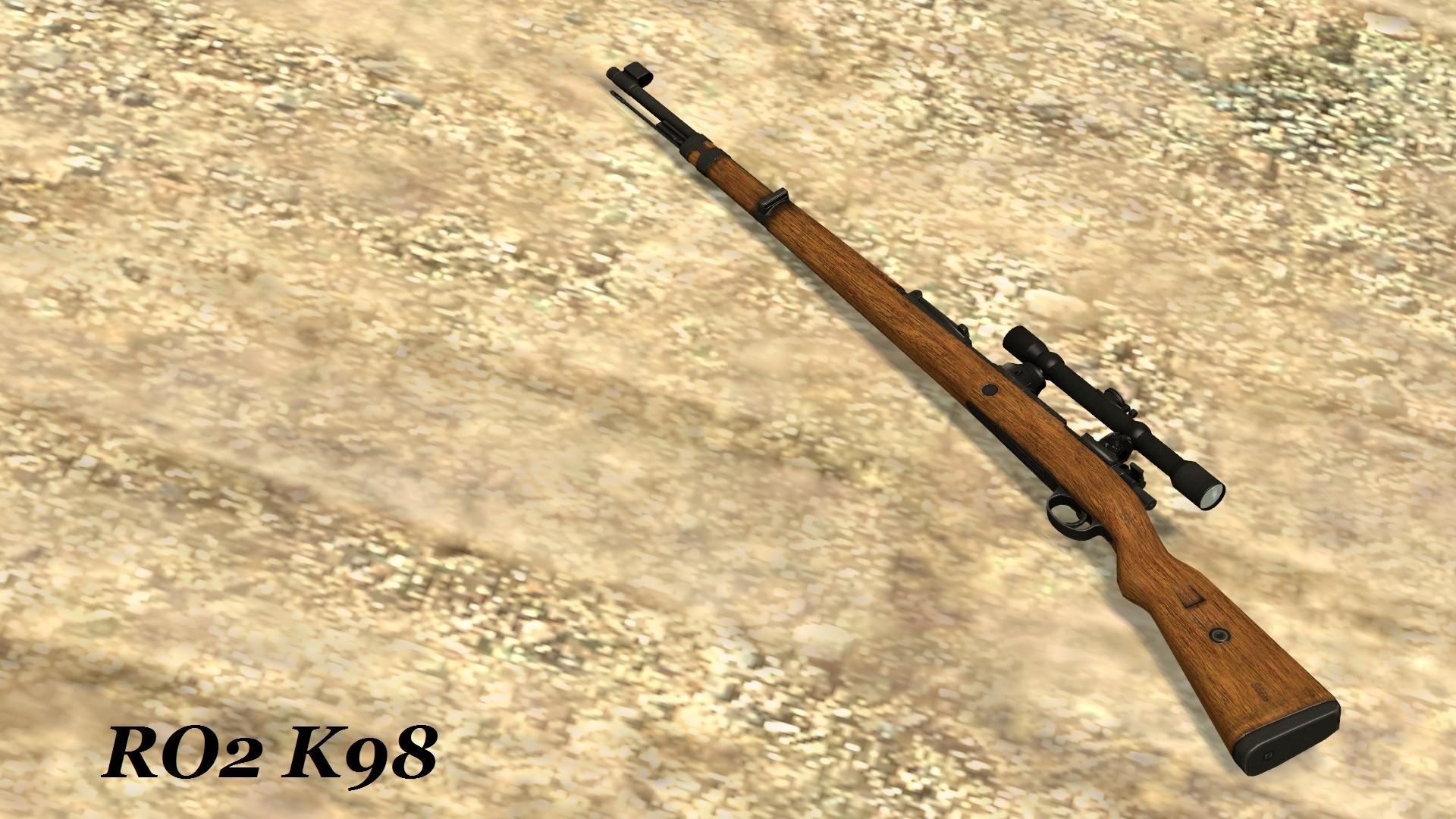 دانلود اسکین Awp   RO2 K98 برای کانتر سورس