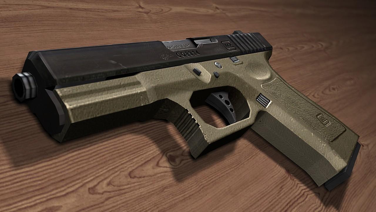 دانلود اسکین Glock | NEW GLOCK ANIMATIONS برای کانتر سورس