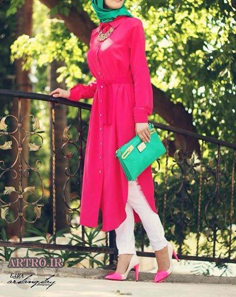مدل مانتو تابستانی شیک دخترانه ,