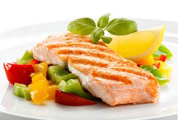 غذای رژیمی ران و پهلو