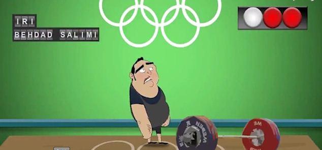 انیمیشن جالب از ناداوری علیه بهداد سلیمی المپیک ریو 2016