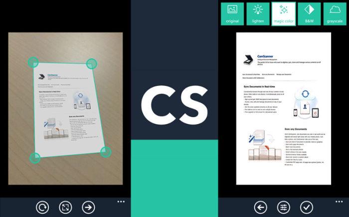 دانلود برنامه camscanner اسکنر قدرتمند اسناد کاغذی