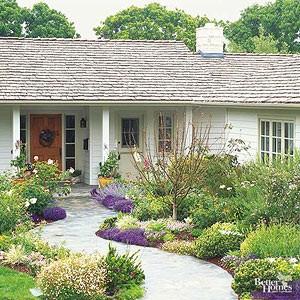 راز هایی در طراحی فضای سبز حیاط ورودی