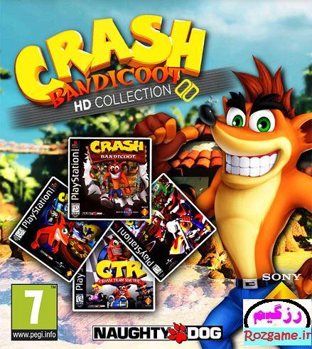 دانلود مجموعه تمام بازی های کرش Crash برای PC