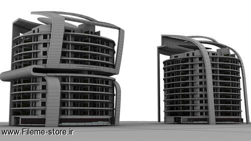 رساله مجتمع مسکونی با رویکرد معماری پایدار / قابل ویرایش