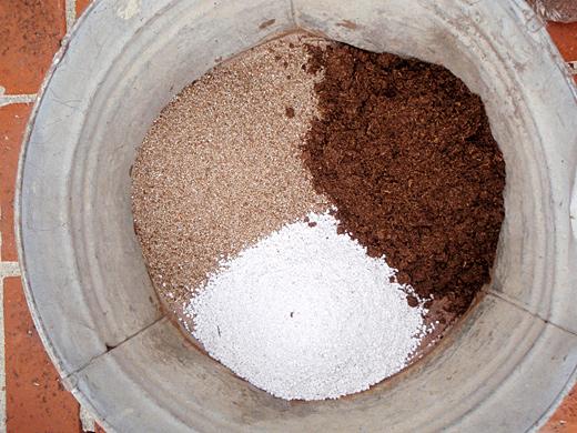 ترکیب خاک کاکتوس