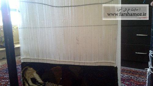 نحوه جدا کردن فرش و تابلو فرش بافته شده از دار قالی