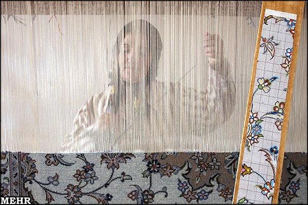 فرش بافی اولویت دوم اداره امور عشایر استان تهران