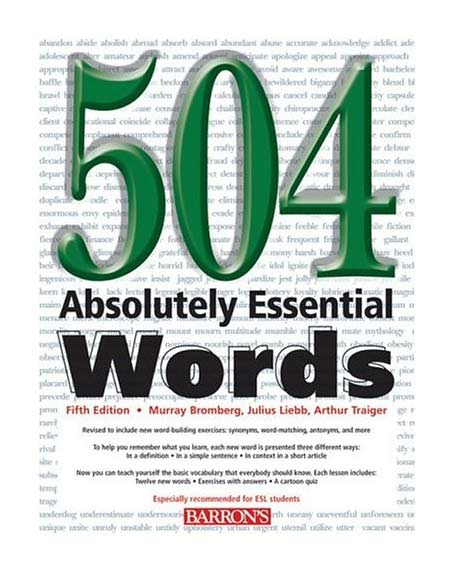 دانلود کتاب 504 واژه ضروری به زبان فارسی