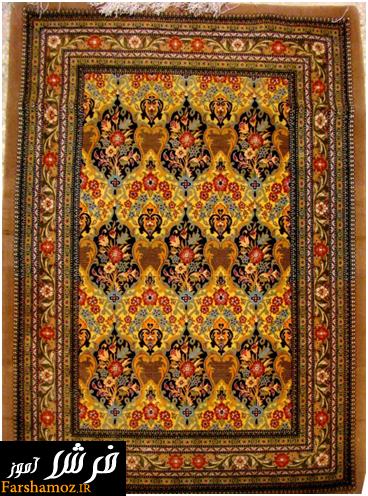قیمت فرش دستباف قم