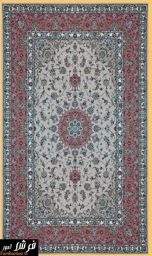 طرحهای فرش دستبافت کاشان (تصاویر)