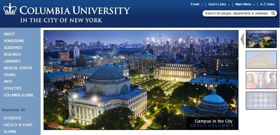 اکانت رایگان دانشگاه کلمبیای آمریکا