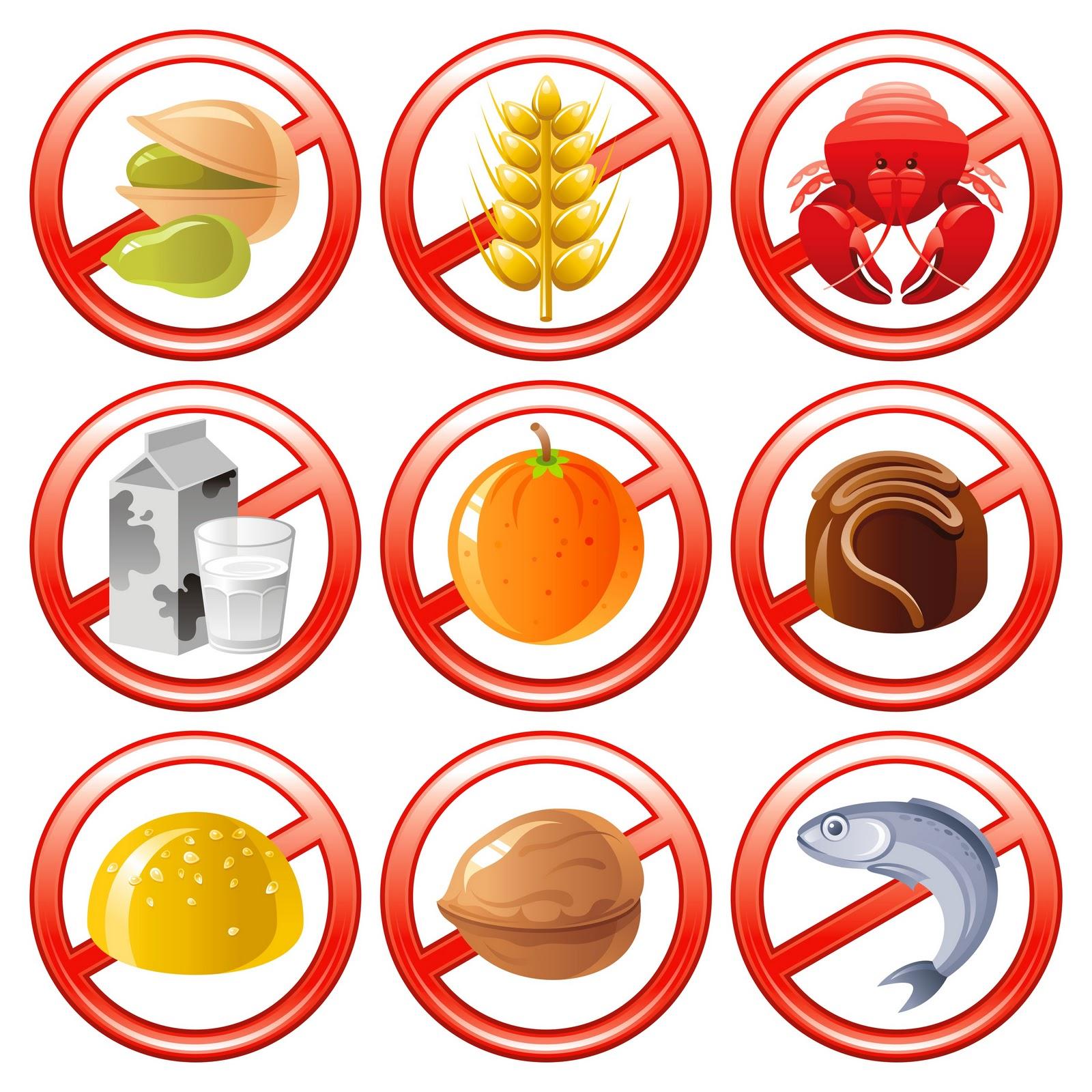 آلرژي غذايي : allergy food حساسیت غذایی