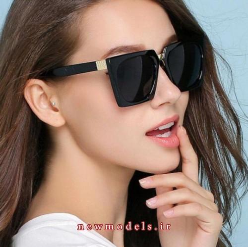 مدل عینک دودی زنانه