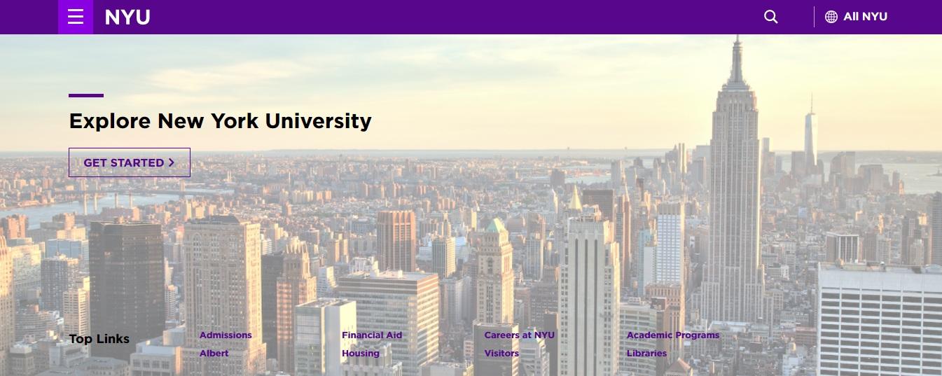 اکانت دانشگاه نیویورگ (رایگان)