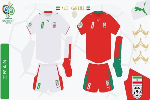 دانلود کیت جام جهانی 2006 ایران