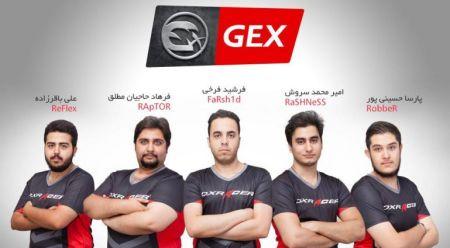 خداحافظی تیم GEx از مسابقات ESWC 2016