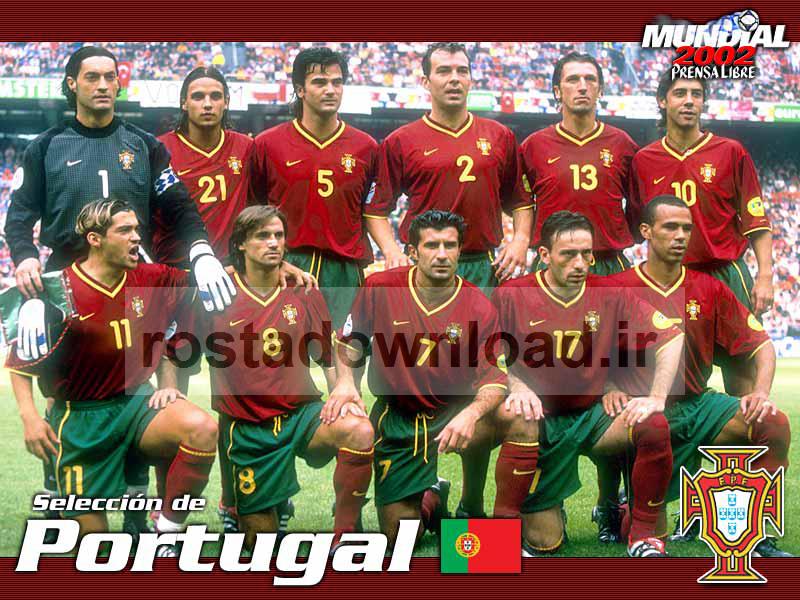 ترکیب تیم ملی پرتقال سال 2002