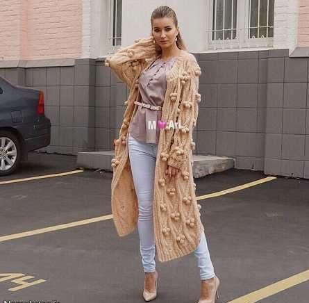 مدل پالتو بافت زنانه 2017