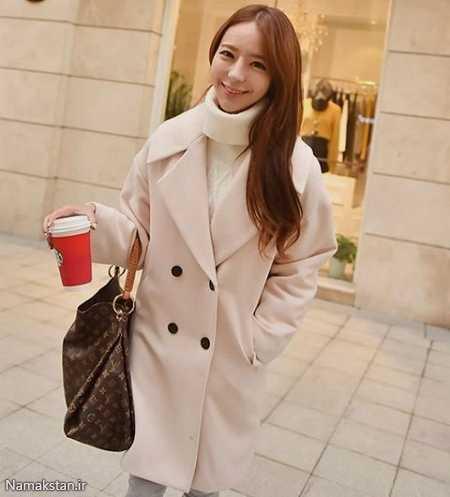 مدل پالتو کره ای,مدل پالتو های کره ای دخترانه,مدل پالتو دخترانه کره ای