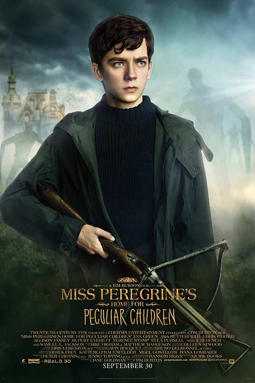 دانلود فیلم Miss Peregrines Home for Peculiar Children 2016 با لینک مستقیم