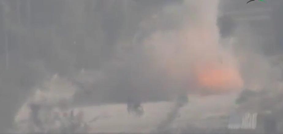 فیلم لحظه شهادت محسن خزایی به ادعای تروریست ها