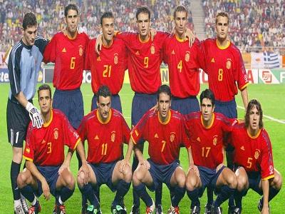ترکیب تیم ملی اسپانیا 2002
