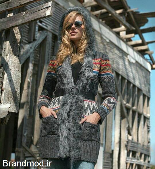مدل های جدید و شیک بافت زنانه آذر 95