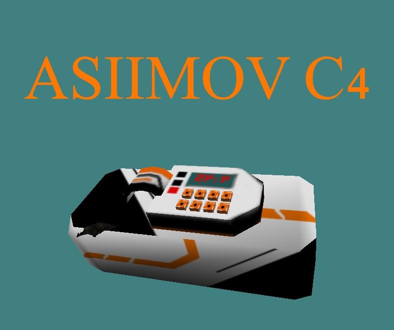 دانلود اسکین سی فور ASIIMOV C4 برای کانتر استریک 1.6