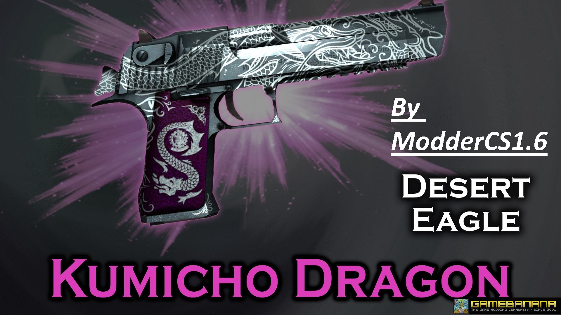 دانلود اسکین دیزرت Desert Kumicho Dragon برای کانتر استریک 1.6