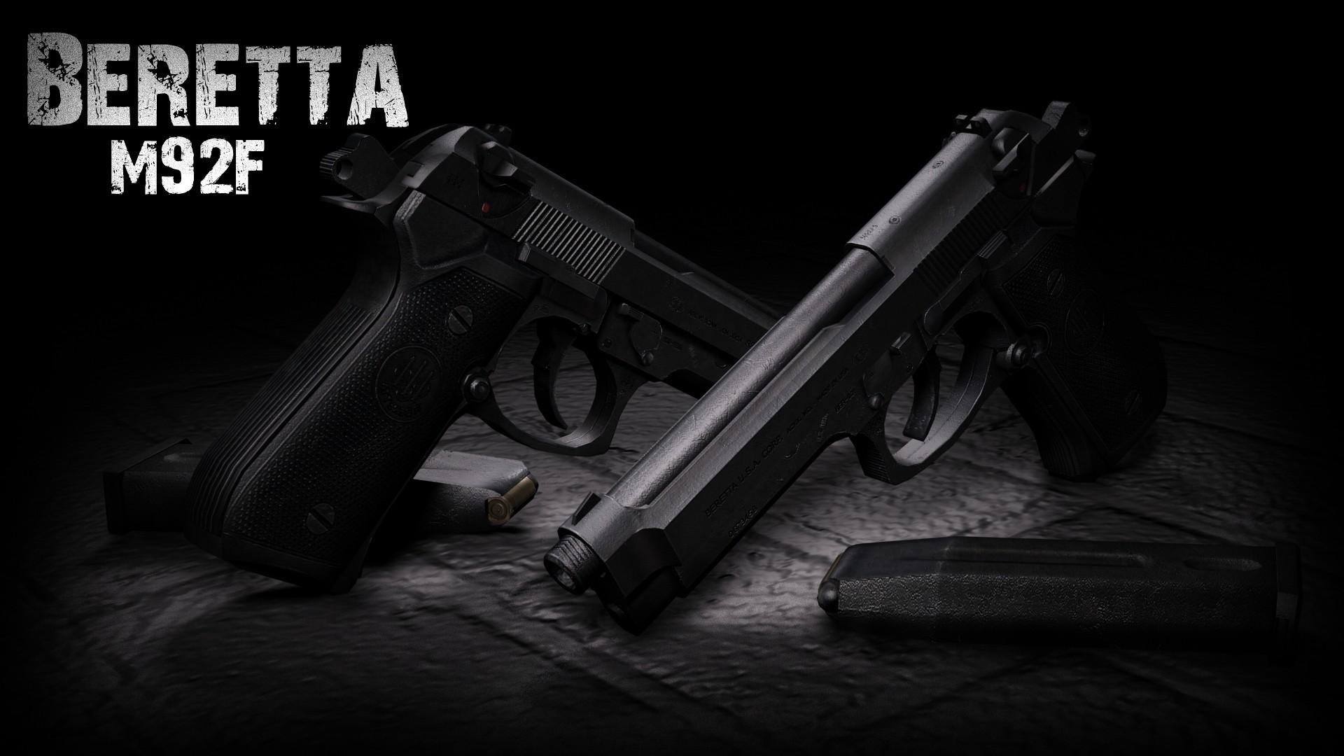 دانلود اسکین دو کلته Double Beretta M92F برای کانتر استریک 1.6