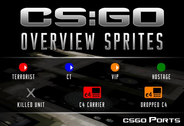 دانلود اسپریت کانتر گو CS:GO Overview Sprites برای کانتر استریک 1.6