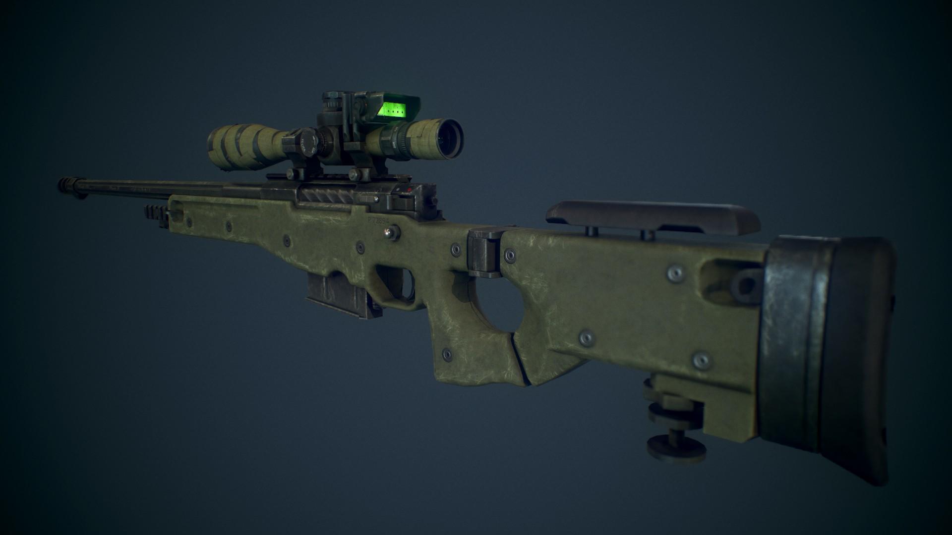 دانلود اسکین اسنایپ CoD:Ghosts L115A3 برای کانتر سورس