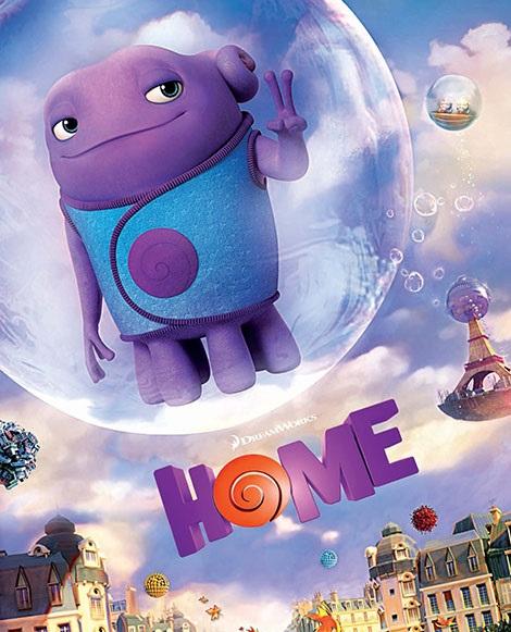 دانلود انیمیشن جدید خانه Home 2015