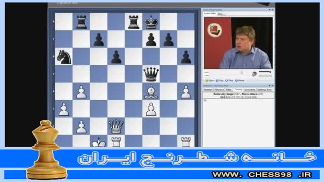 آموزش وسط بازی شطرنج توسط استاد بزرگ آلکسی شیروف